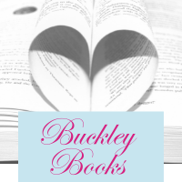 Buckley books with book in heart shape
